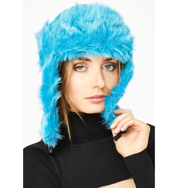 Space Wavve Trapper Hat