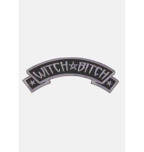 Kreepsville 666 Witch Bitch Arch Patch