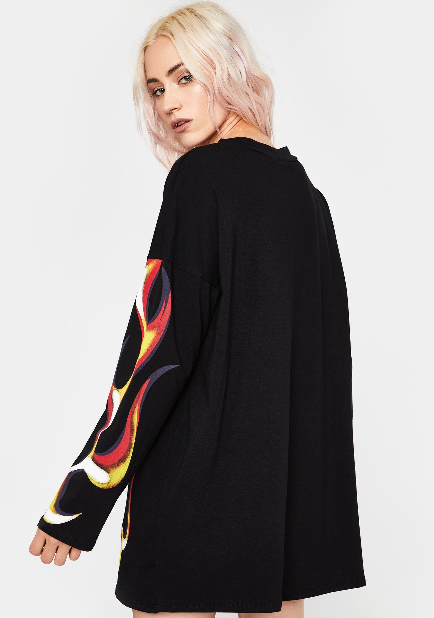 Spitfire Shorty Shirt Dress