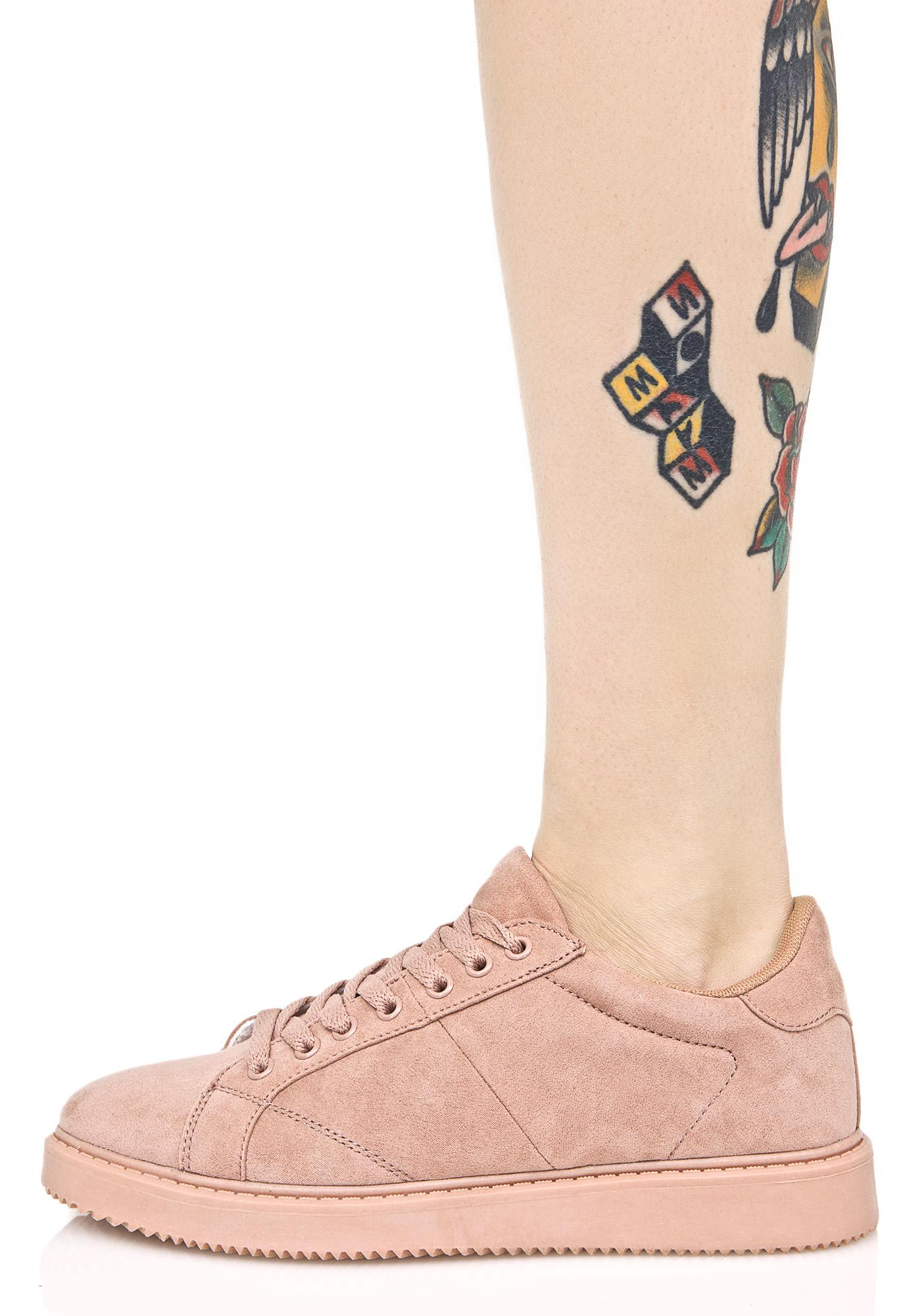 Rose Metro Monochrome Sneakers