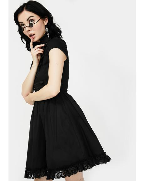 Death March Mini Dress