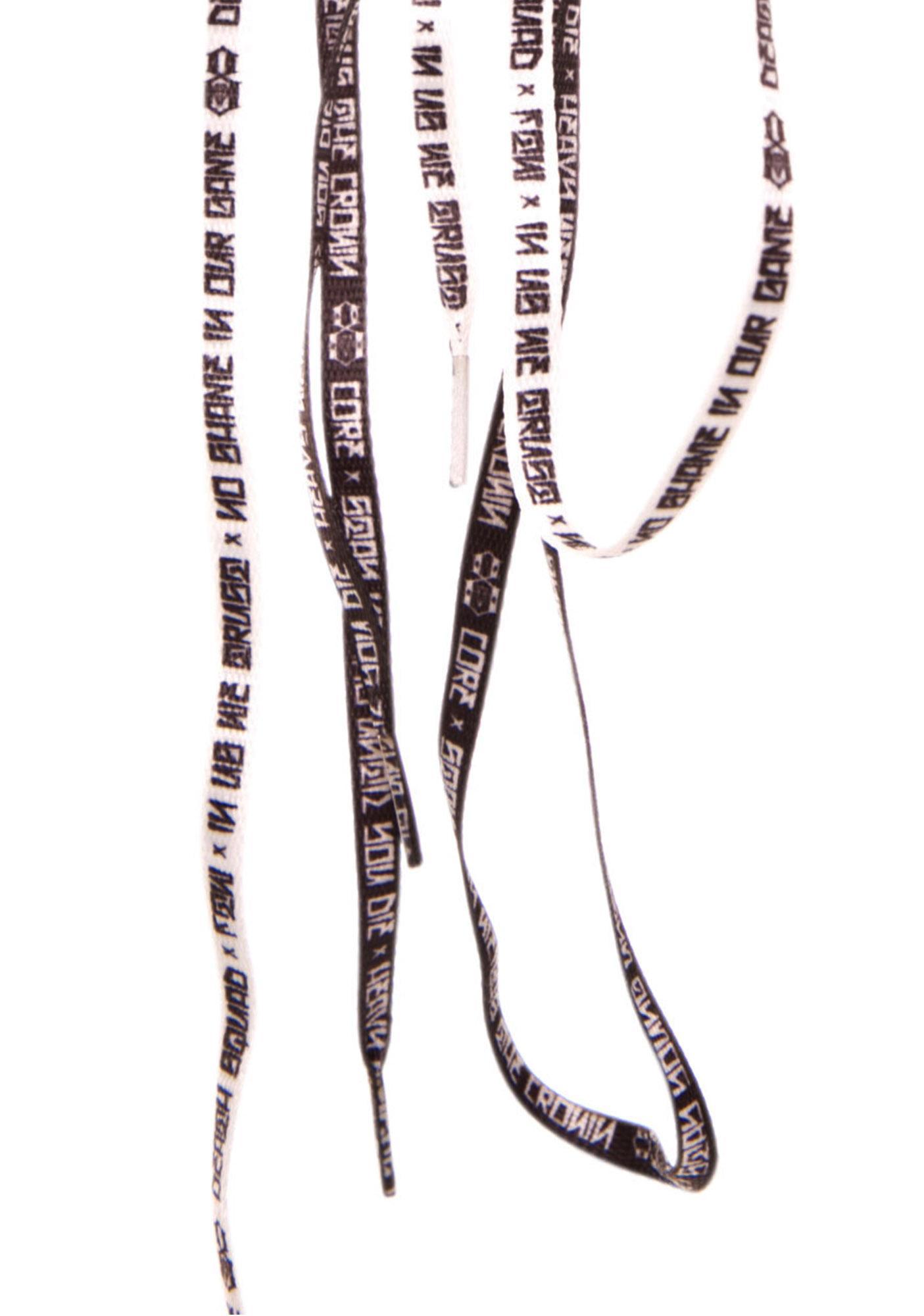 Rebel8 Phrases Shoelaces