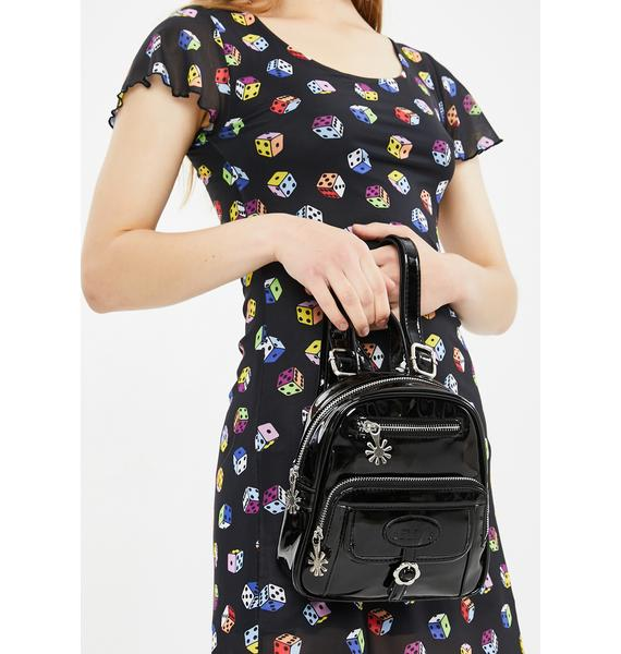 dELiA*s by Dolls Kill On The Daily Patent Backpack