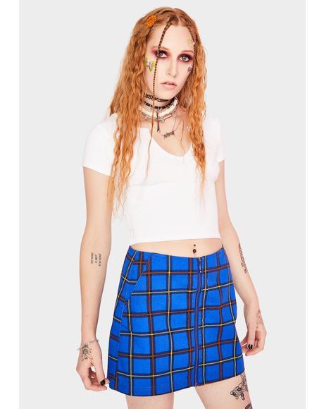 Bailey Plaid Mini Skirt