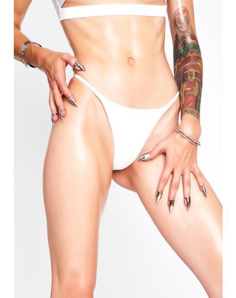 White Spell Bikini Bottoms
