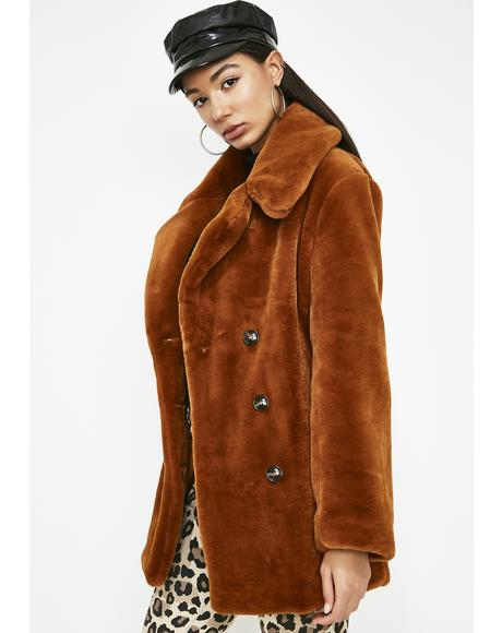 Sassy Chic Furry Jacket