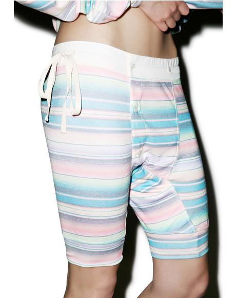 Pastel Blanket Darcy Shorts
