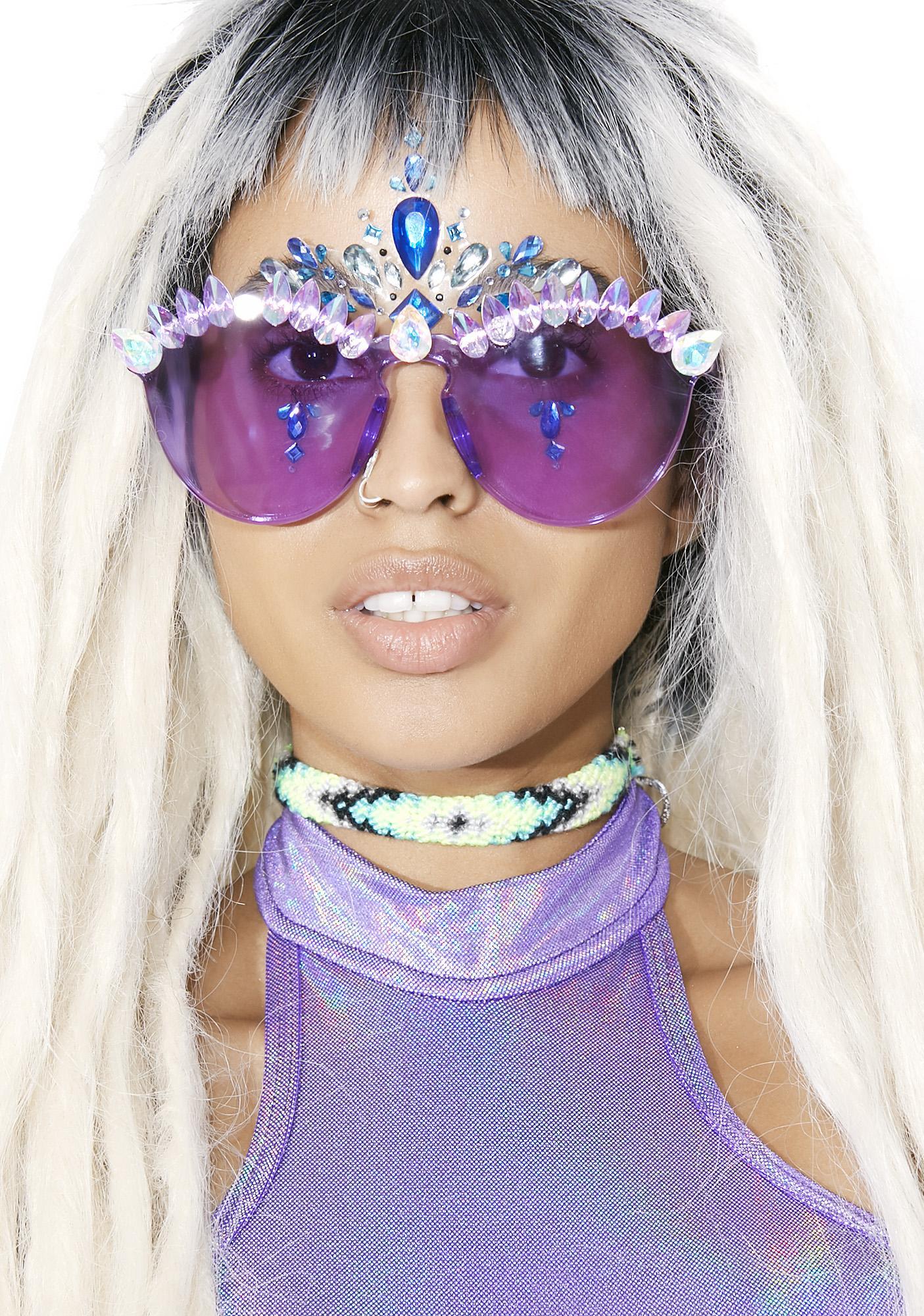 ReblKitty Purple Princess Sunnies