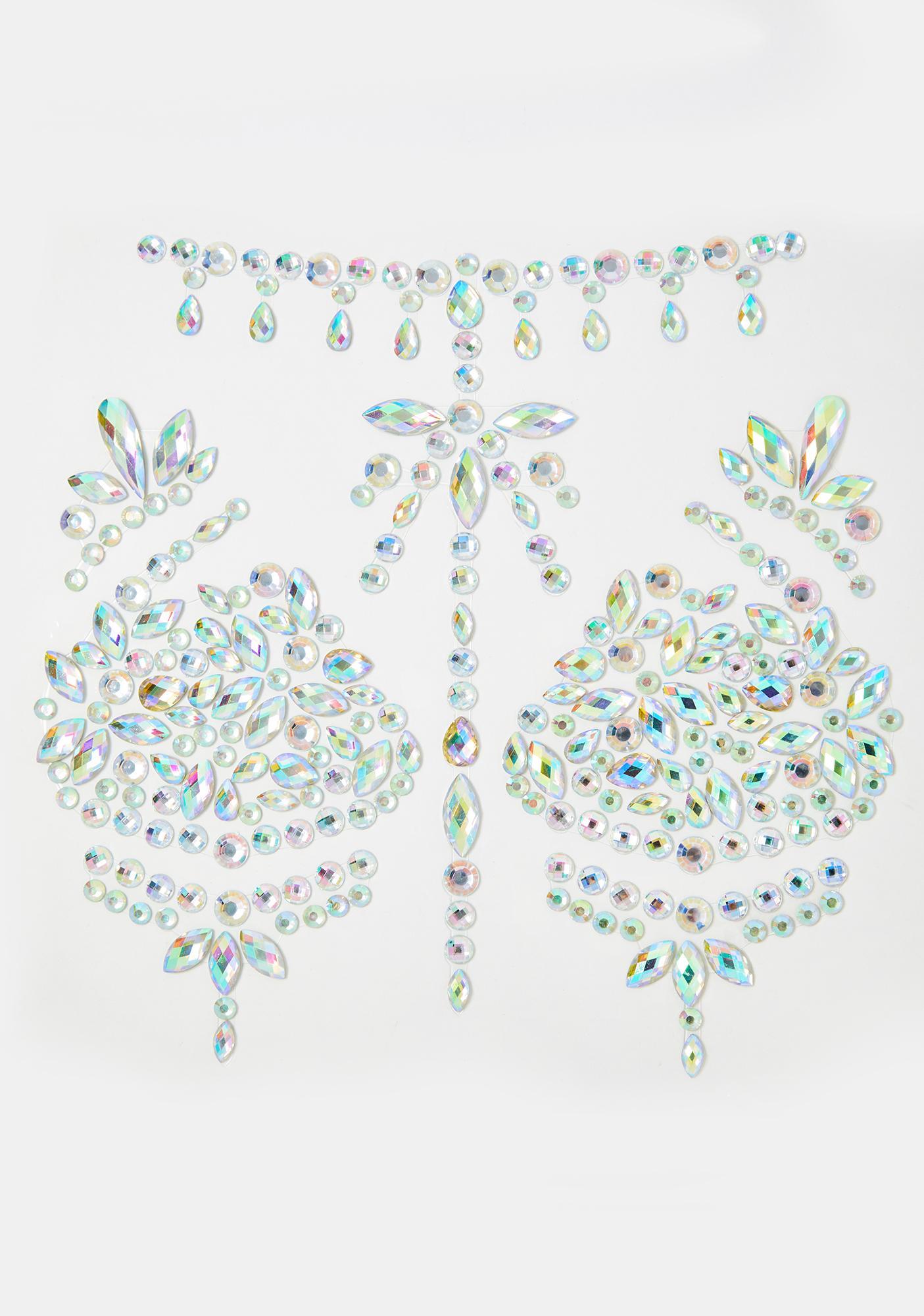Icy Alluring Enchantress Body Gems