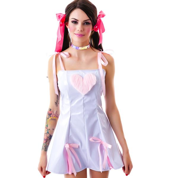 Vinyl Heart Breaker Dress