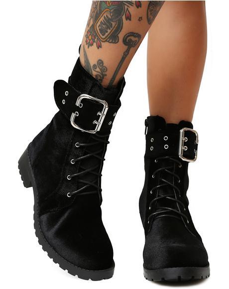 Onyx Savaged Combat Boots