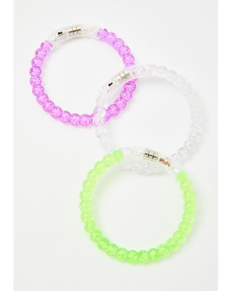 Arm Candy Light Up Bracelet Set