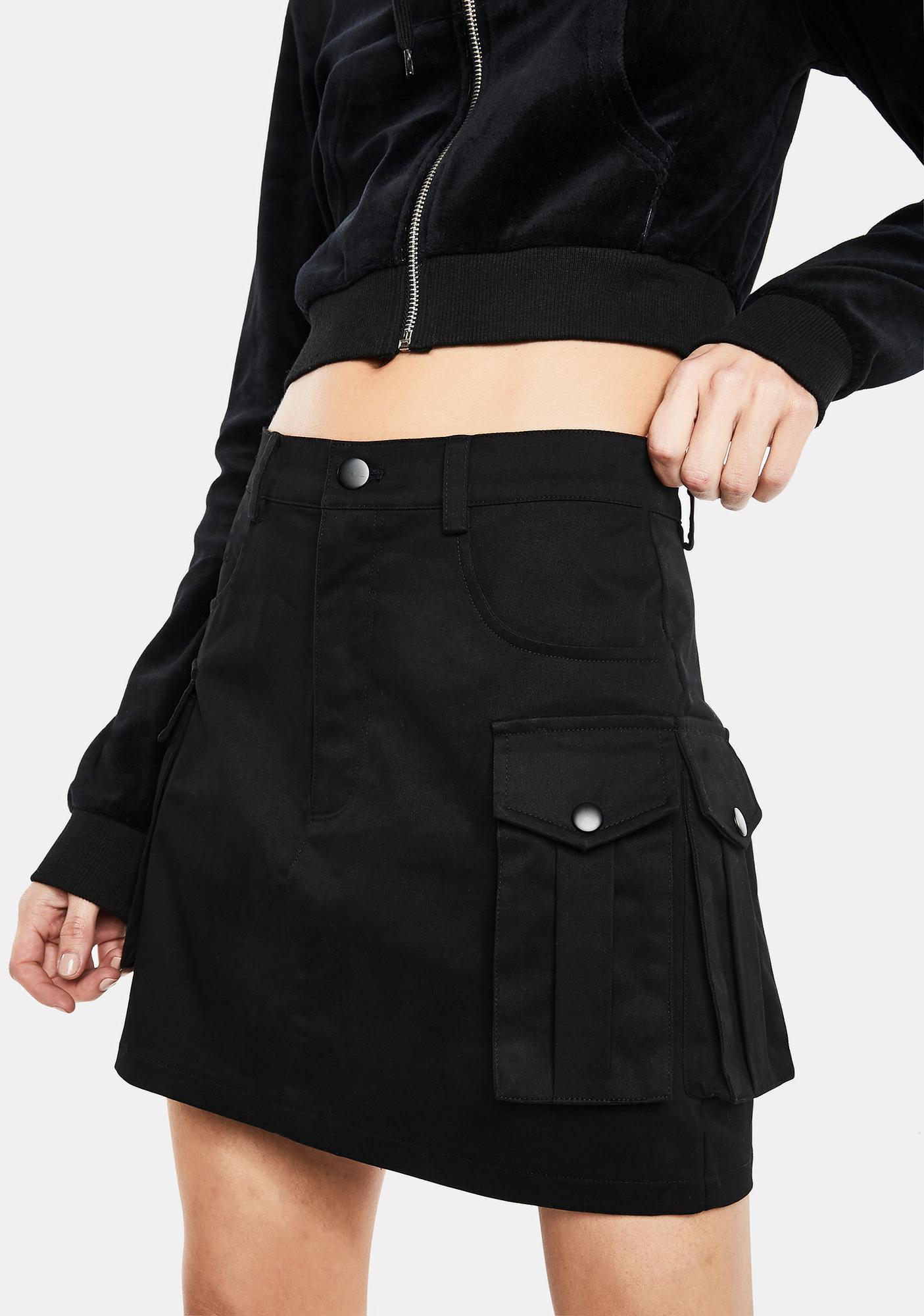 Club Exx Set For Action Cargo Skirt