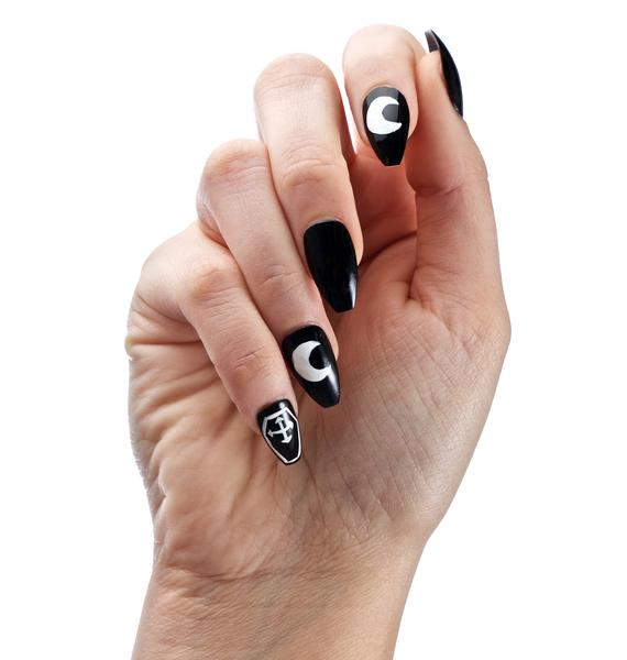 Rave Nailz Dead Coffin Nail Set