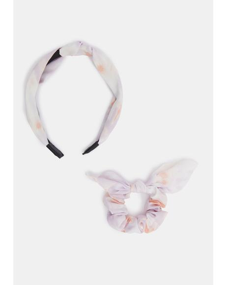 Went Wild Headband And Scrunchie Set