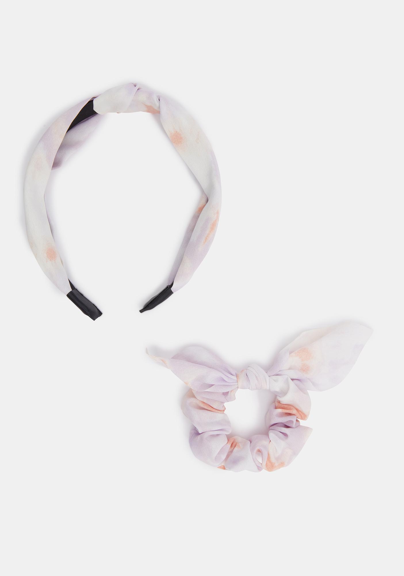Went Wild Headband And Scrunchie Set