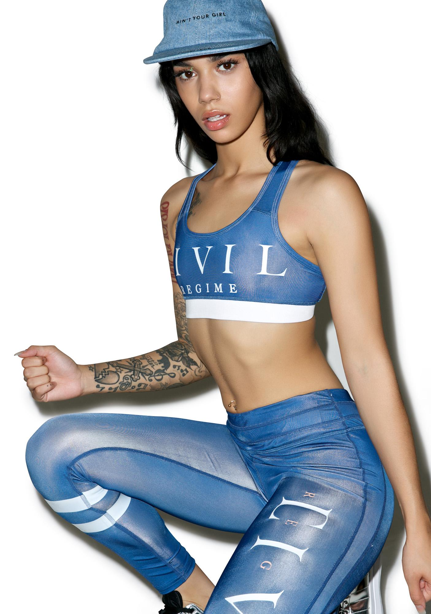 Civil Clothing Civil Regime Sports Bra