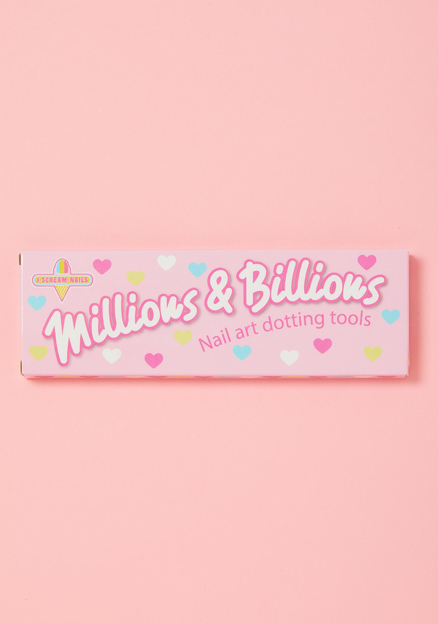 I Scream Nails Millions And Billions Nail Art Tools