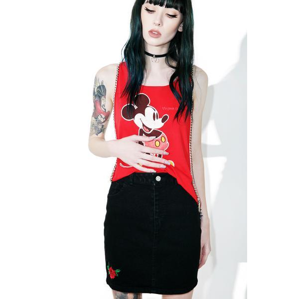 Motel Broom Skirt