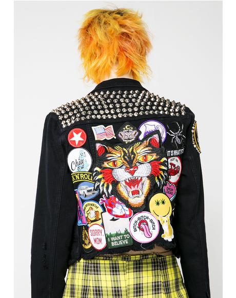 Cat Power Denim Jacket