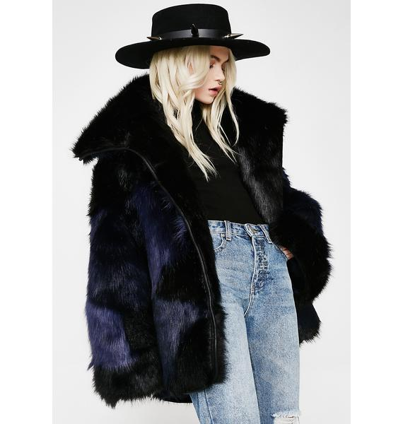 One Teaspoon Grizzly Manor Faux Fur Jacket