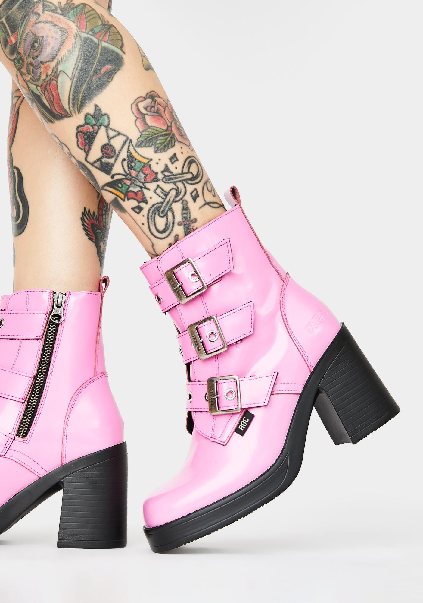 Indigo Ankle Boots by Roc Boots Australia