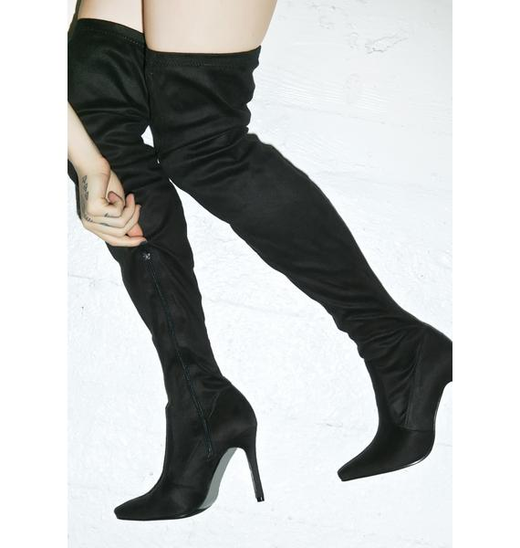 Eclipse Thigh High Boots
