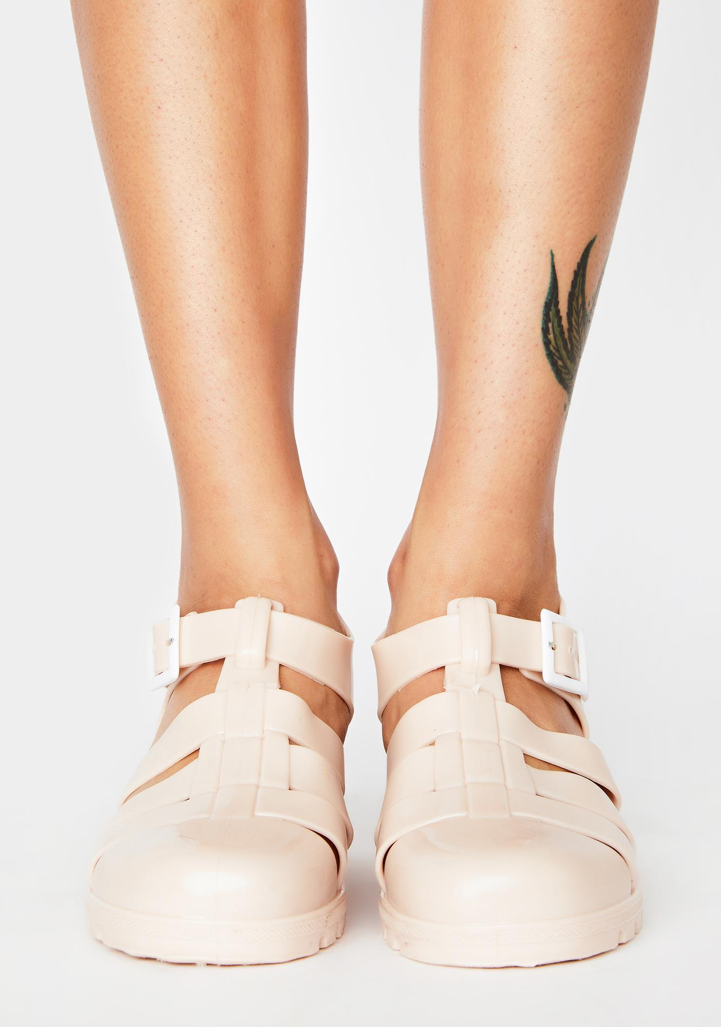 Java Feel This Moment Jelly Sandals