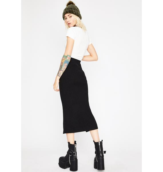 In Luv With Me Midi Skirt