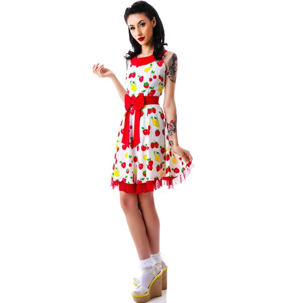 Sourpuss Clothing Vintage Fruit Dance Dress
