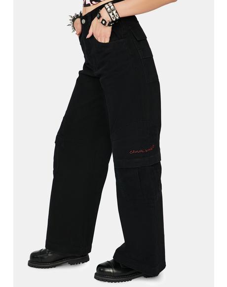 Black Boardwear Jeans