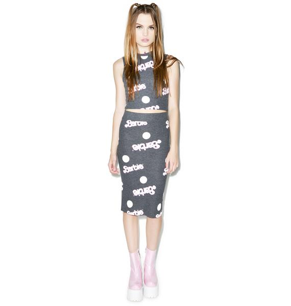 Wildfox Couture Everywhere Barbie Skipper Skirt