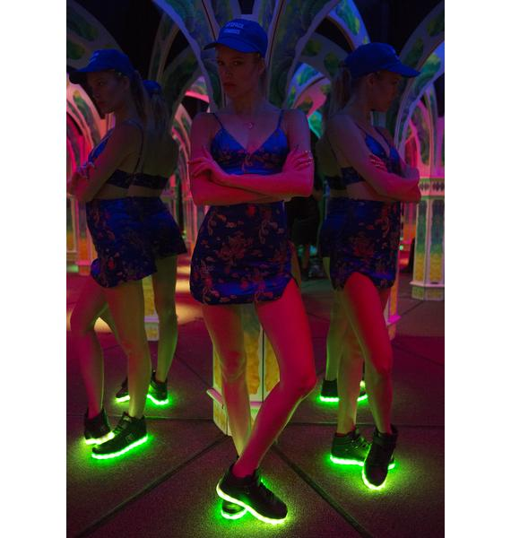 Electric Styles Light Up High Top Shoes