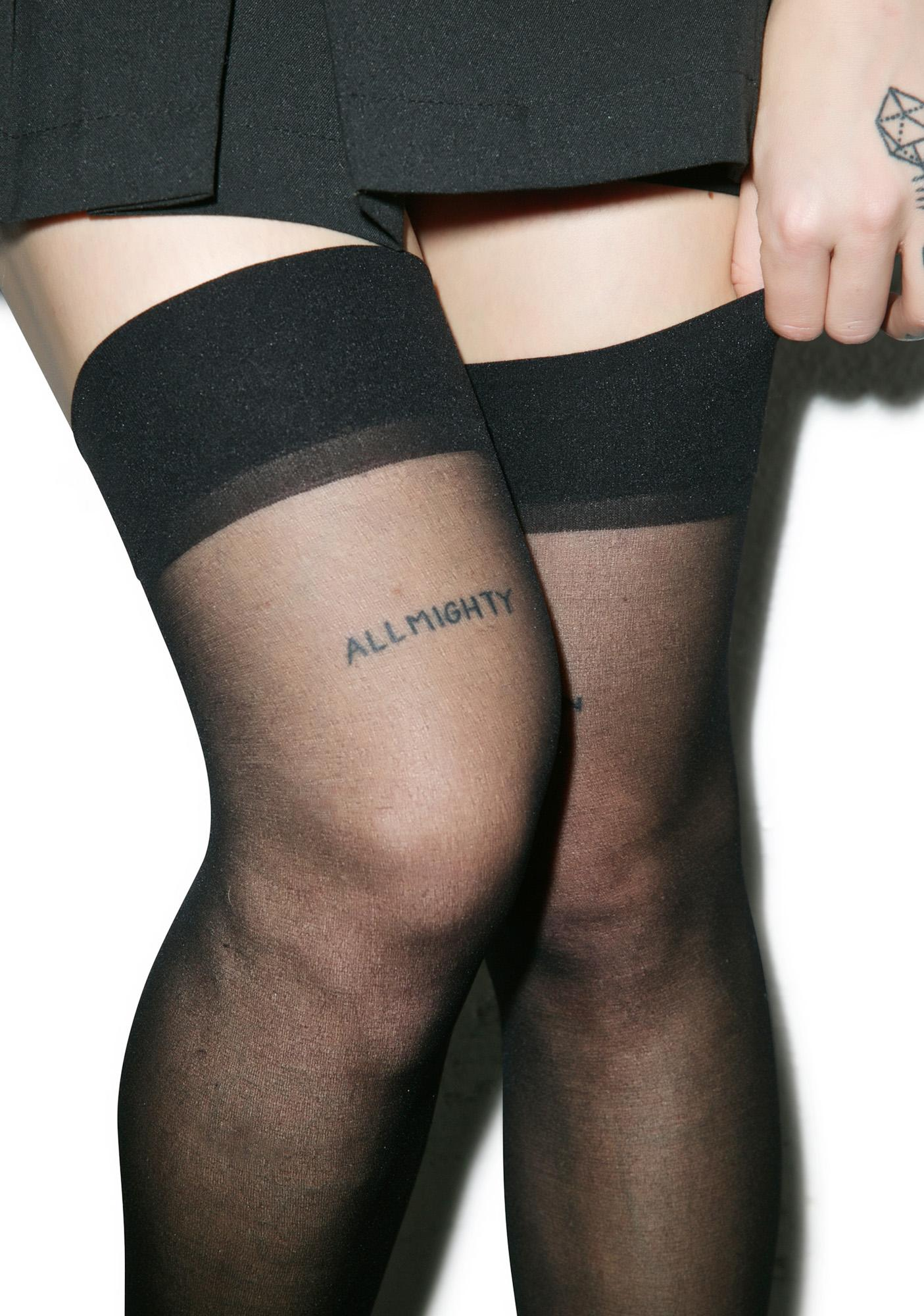 Coquette Sheer Thigh Highs