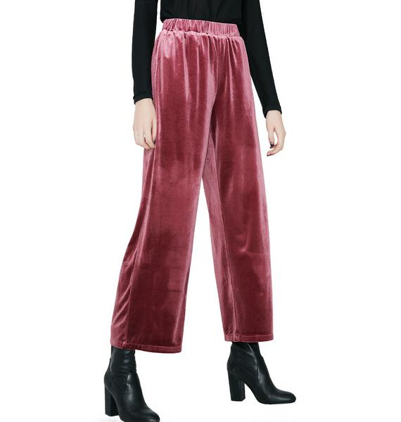 Control Freak Velvet Trousers