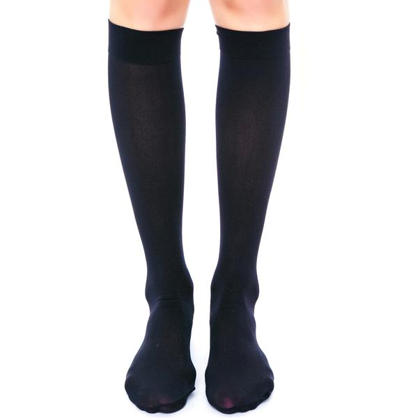 Prep School Girl Knee Socks