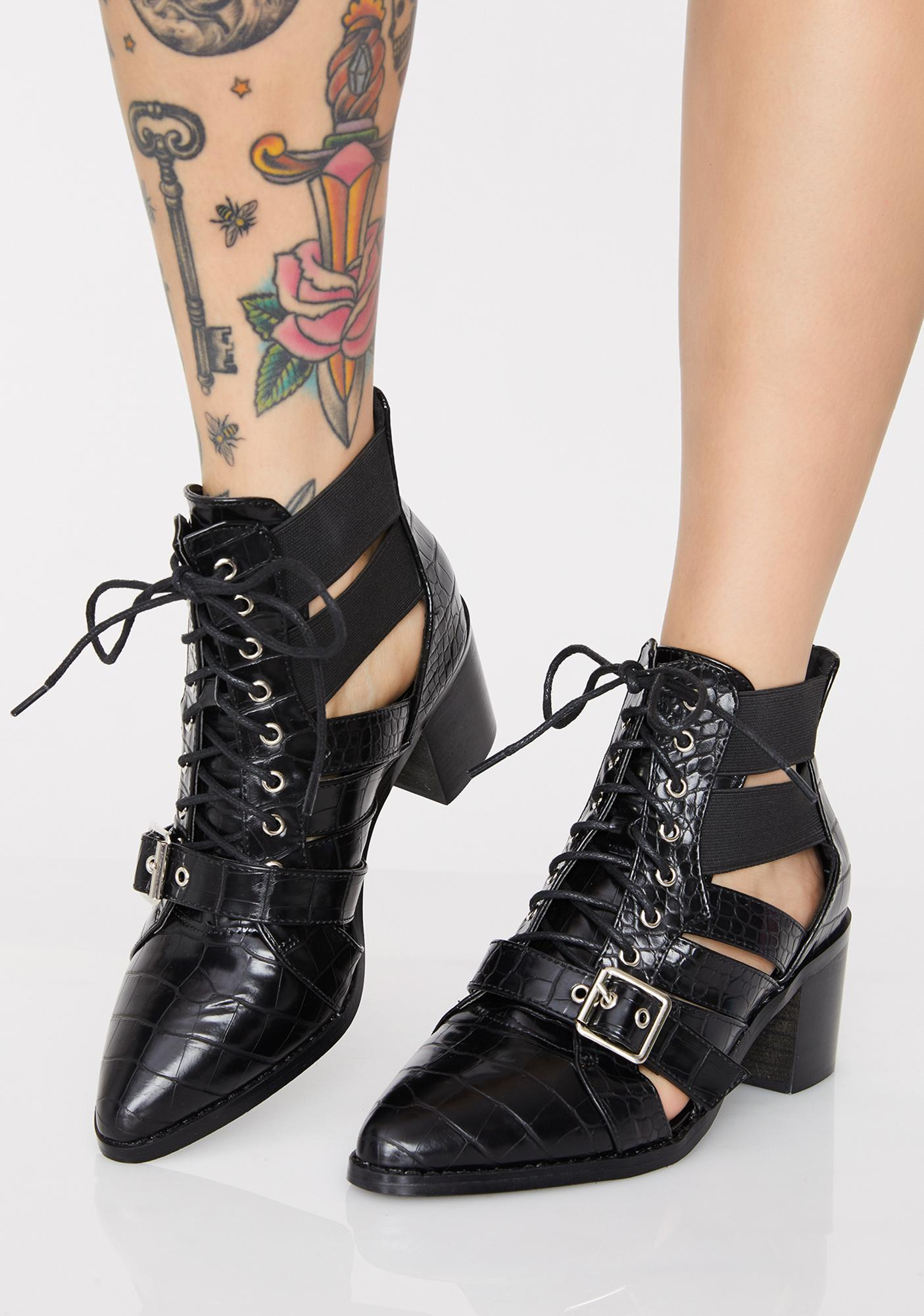 Wanderlustin' Cut Out Boots