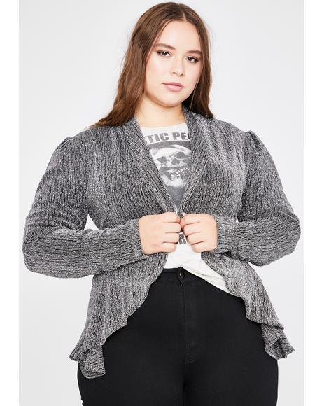 Babe Radiance Glitter Jacket