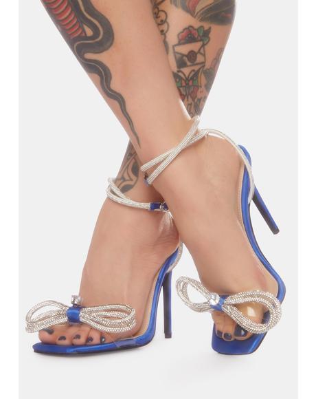 Blue Sugar High Stiletto Heels