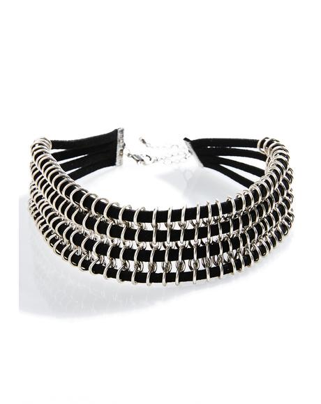 Lunar Collar Necklace