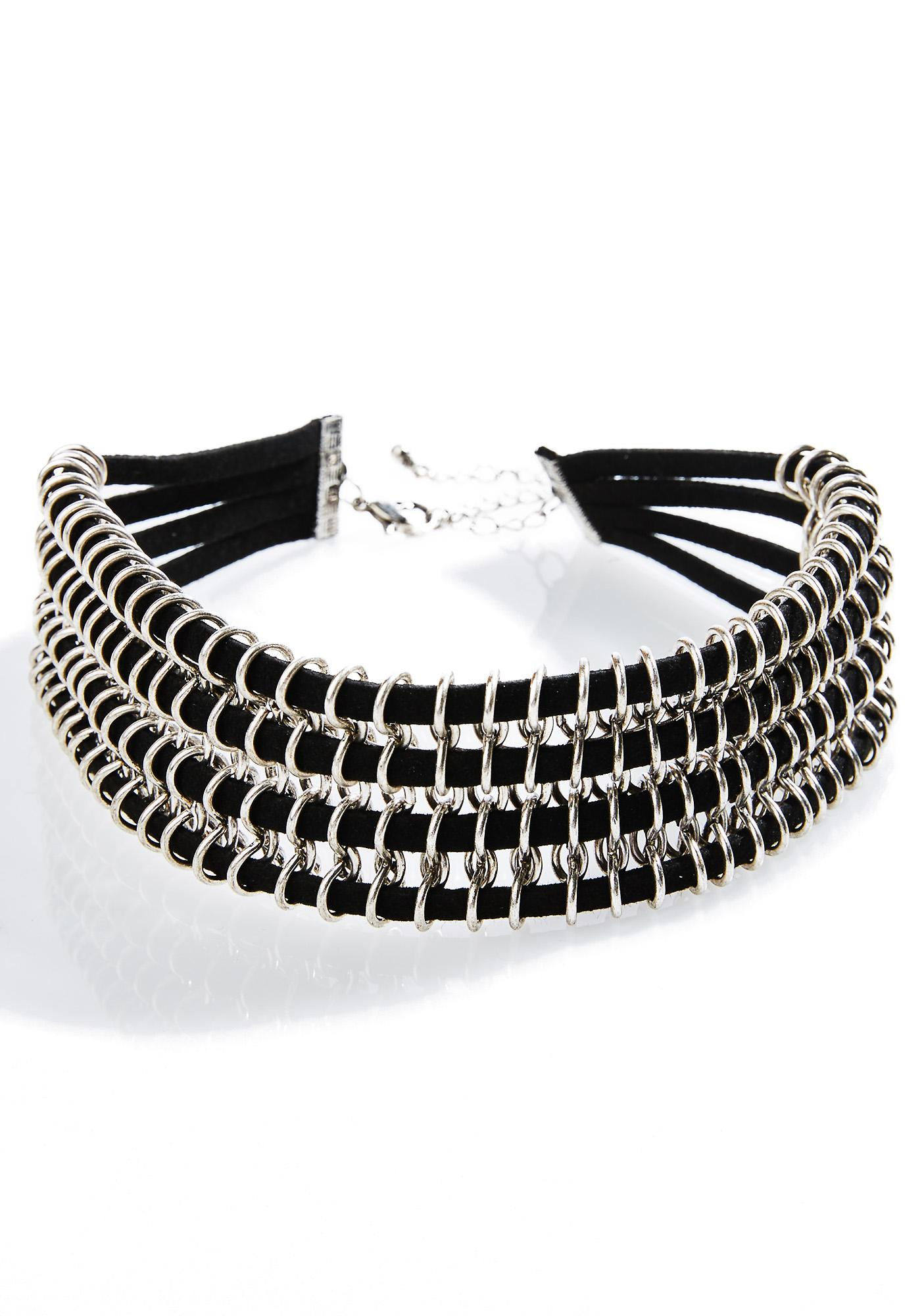 Lunar Collar Necklace