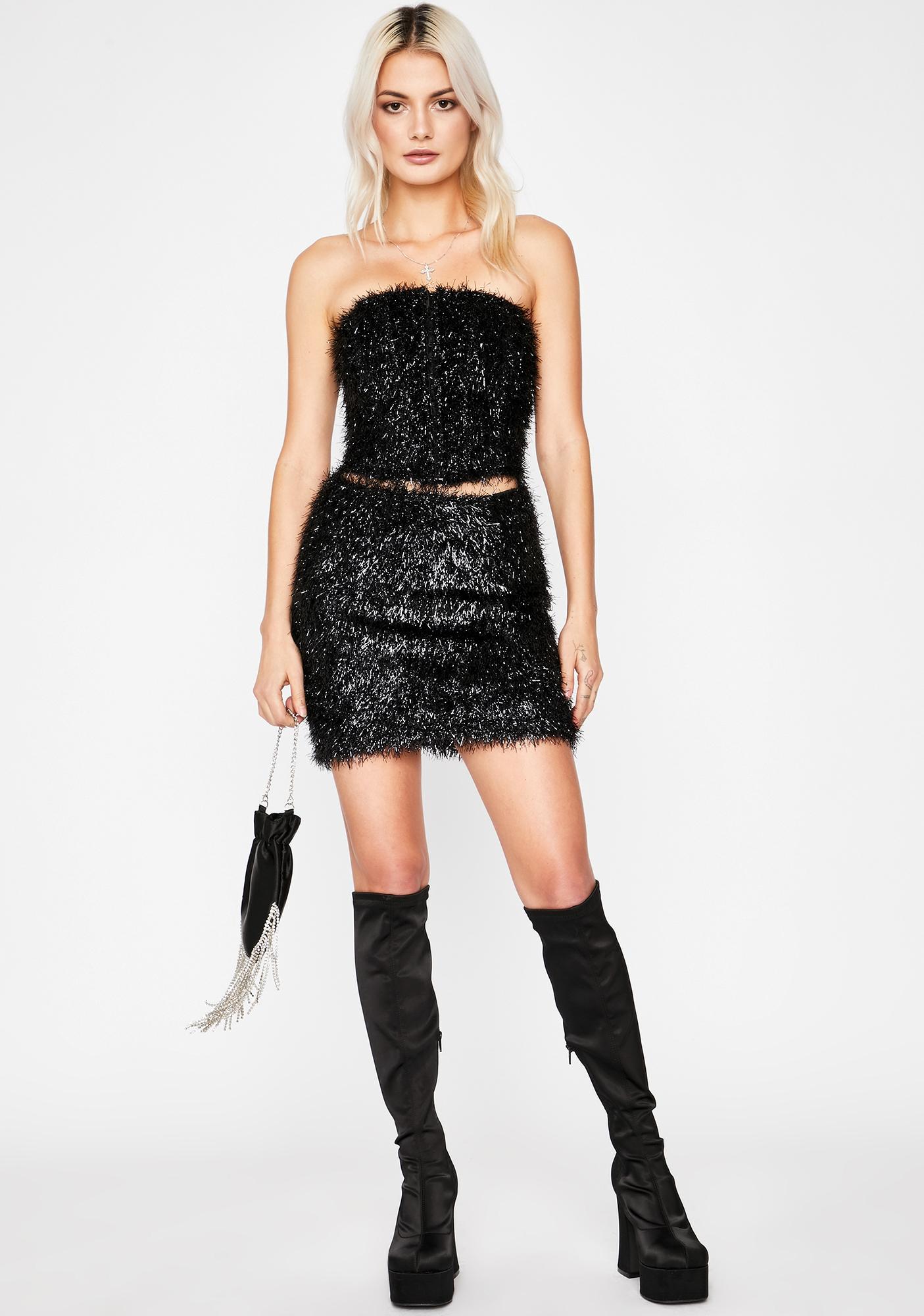 Dance All Night Fringe Skirt