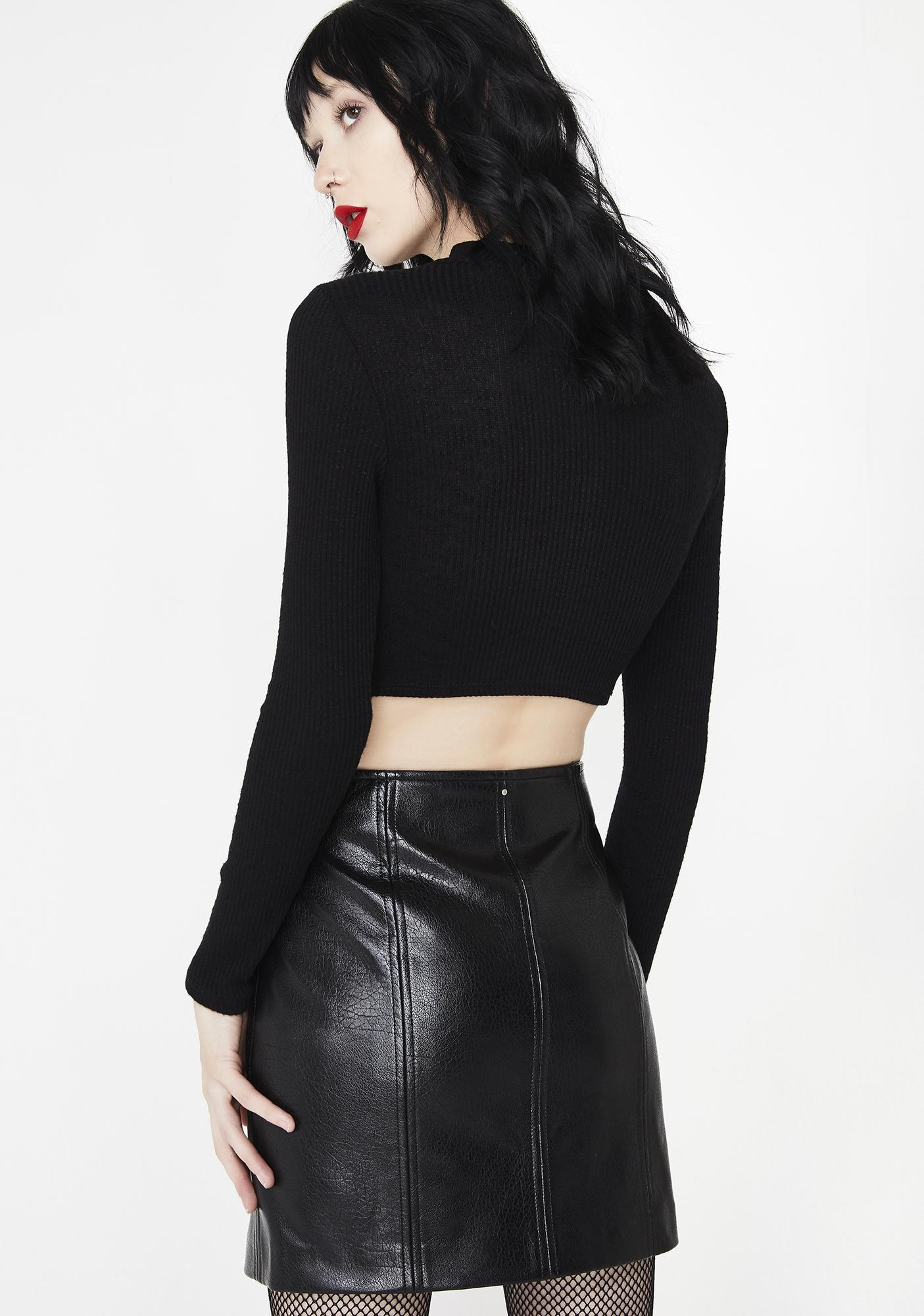 Blank NYC House Party Mini Skirt