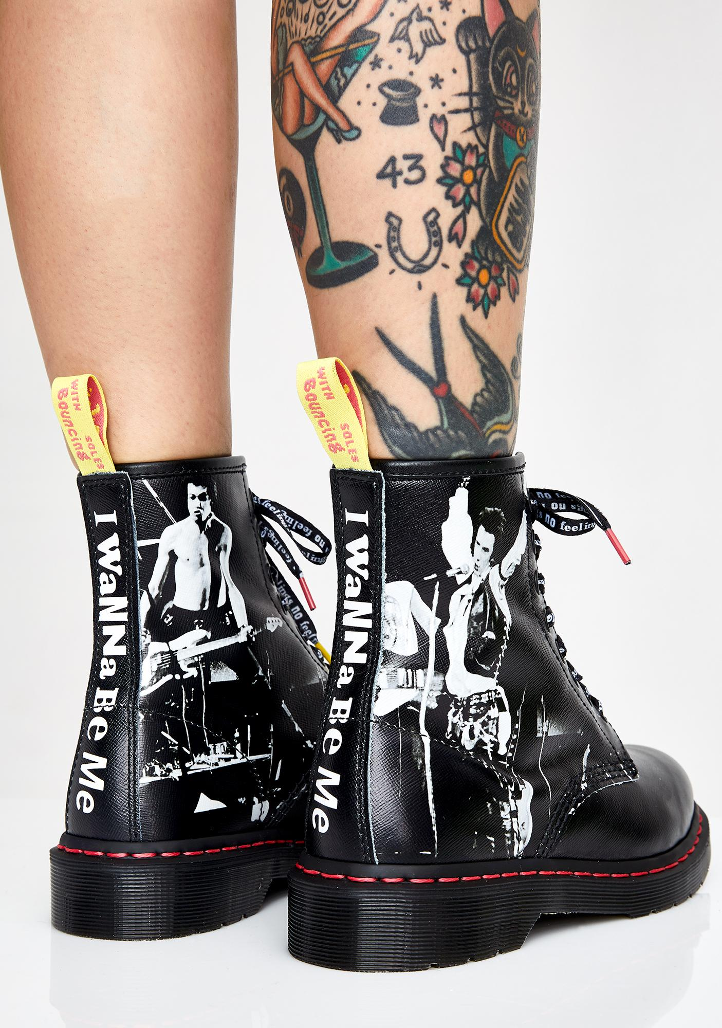 49377df706fc Dr. Martens 1460 Sex Pistols Vicious Boots | Dolls Kill