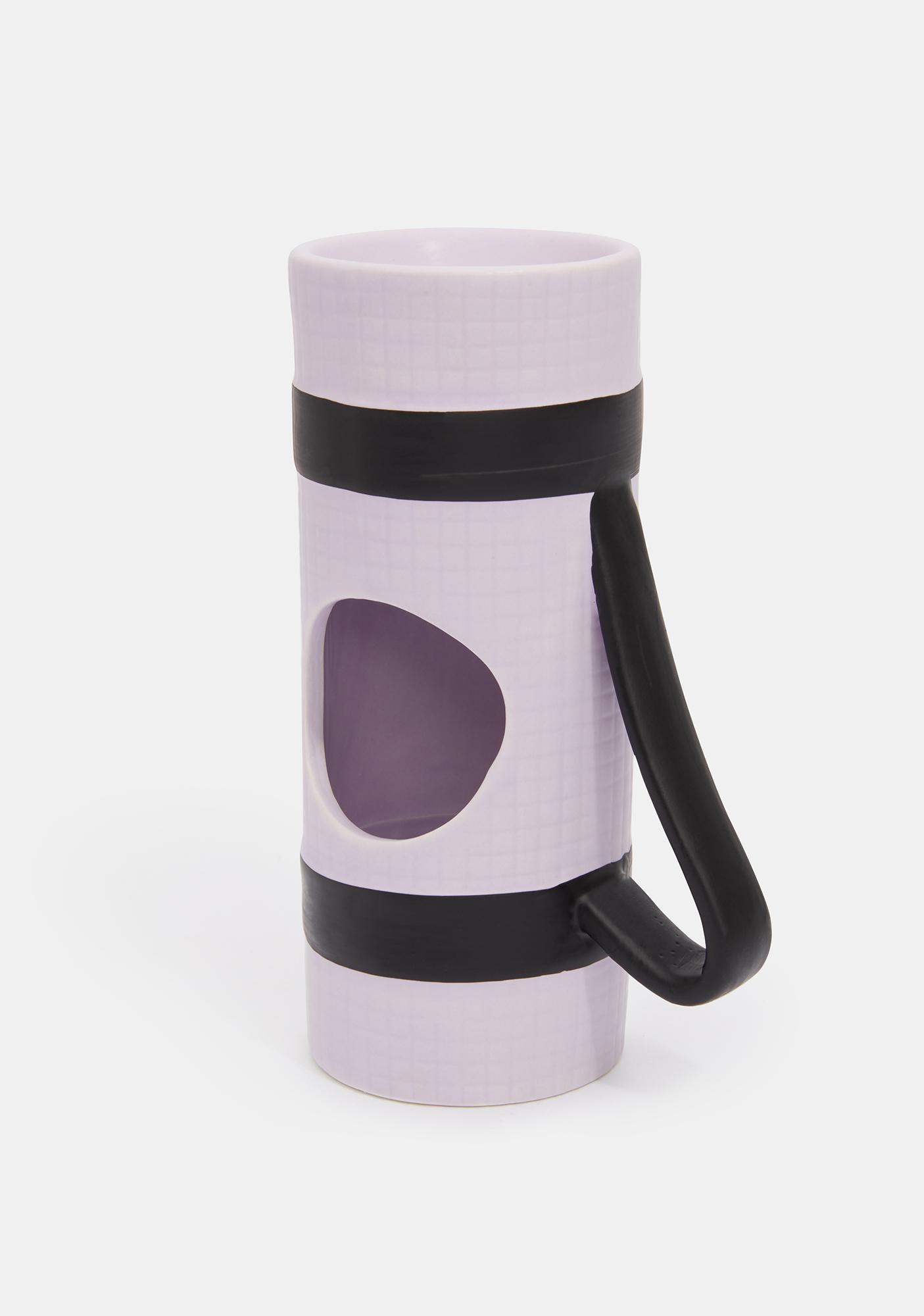 Om Yoga Mat Candle Holder