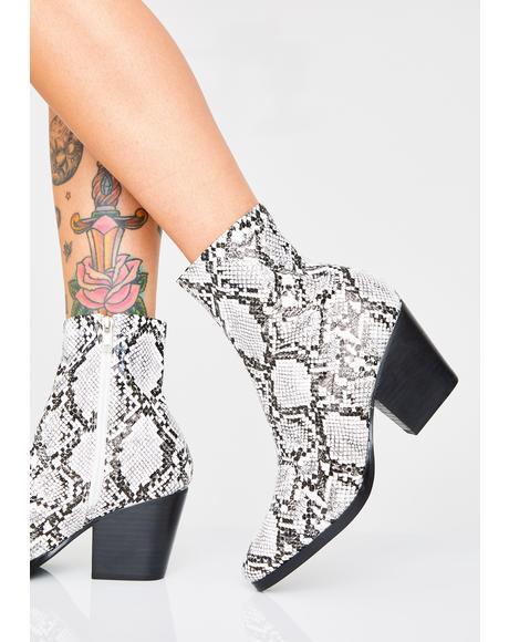 Runnin' Wild Snake Boots