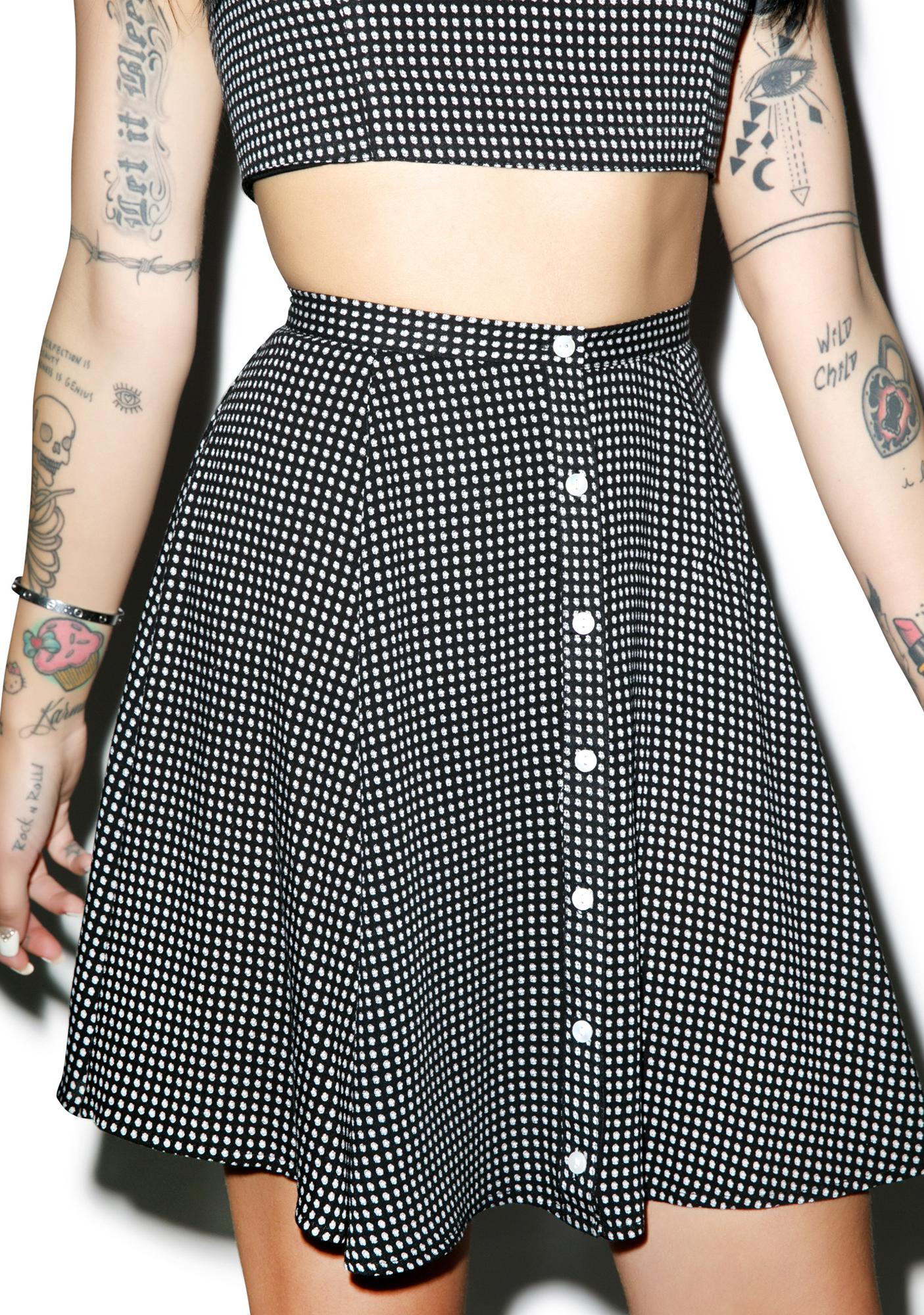 Mink Pink Spot The Difference Skirt