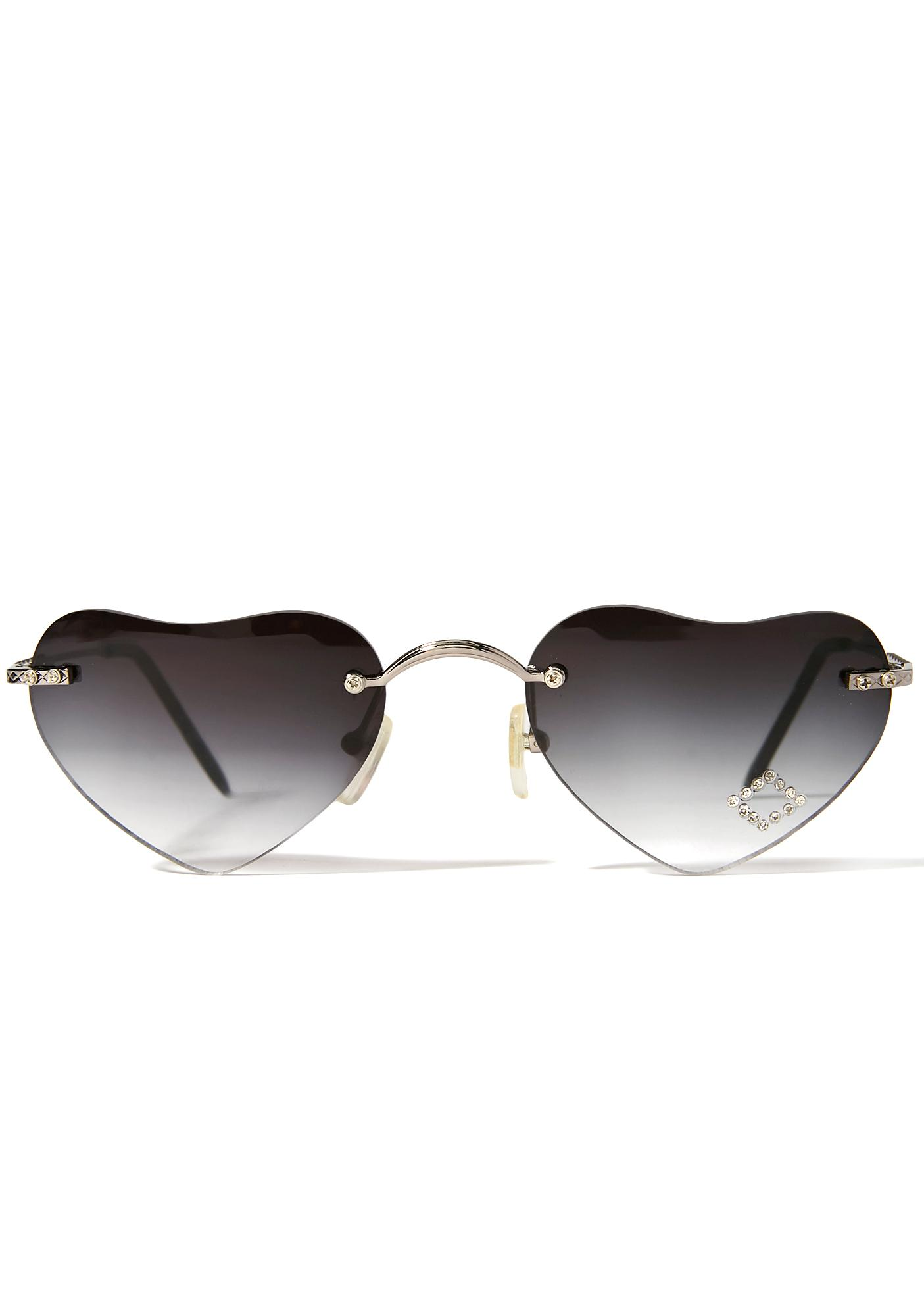 Smoke Lolita Hearts Sunglasses