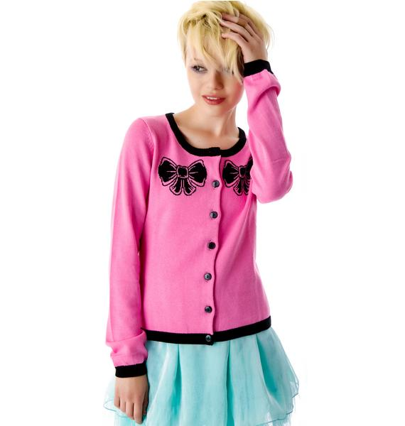 Sourpuss Clothing Hey Kitten Cardigan