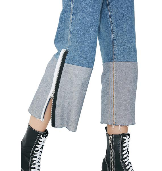 The Ragged Priest Downfall Jeans